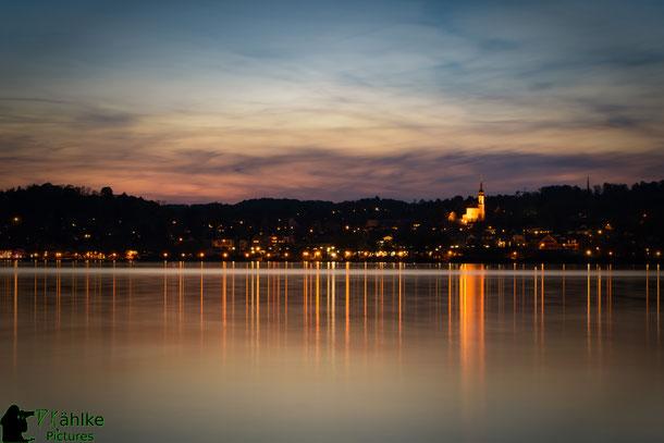 Starnberg zur blauen Stunde