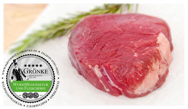 Filet-Steak von der Färse bei Fleischermeister Grönke