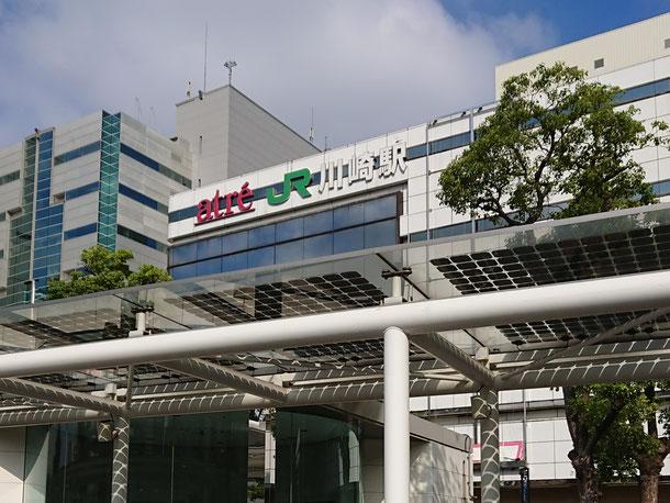 AutoCAD研修で利用したJR川崎駅