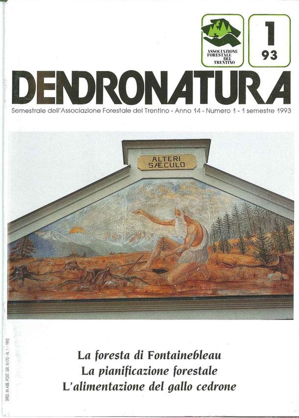 Foto di copertina: particolare di un affresco - palazzina Amministrazione Foreste Demaniali - Cavalese (TN)