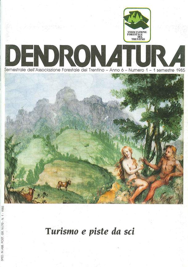 """Foto di copertina (C.T.): affresco del 1700 di autore ignoto, tratto da """"La creazione"""" - Villa Bortolazzi - Vattaro (TN)"""