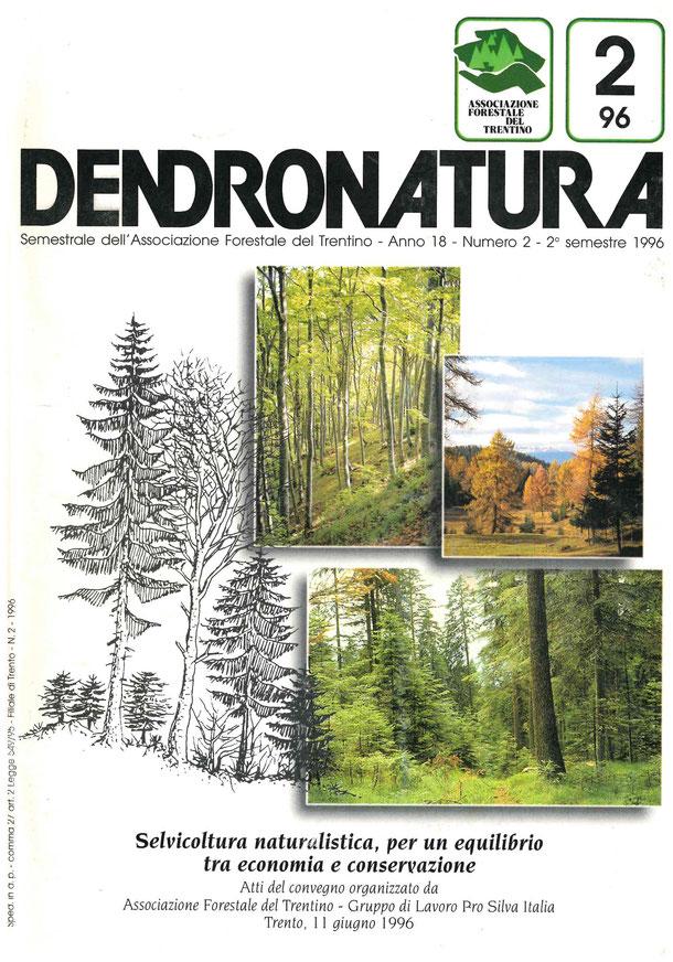 Foto di copertina: Composizione di disegni e foto a tema forestale.