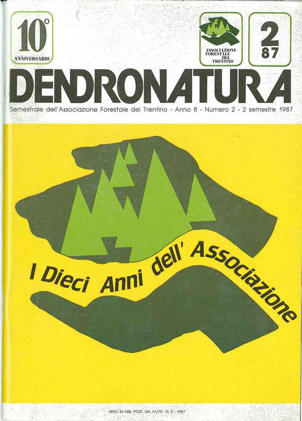 """Immagine di copertina: locandina de """"I dieci anni dell'Associazione""""."""