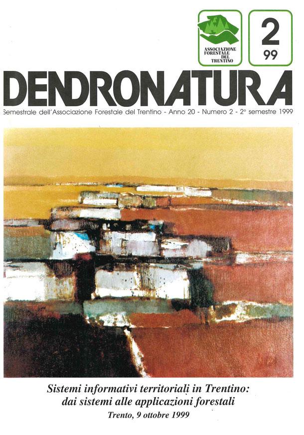 Foto copertina: dipinto in tecnica mista su tela - Annamaria Rossi Zen, 1990