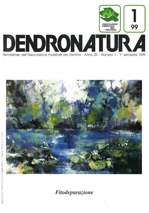 Foto copertina: dipinto in tecnica mista su tela - Annamaria Rossi Zen, 1997
