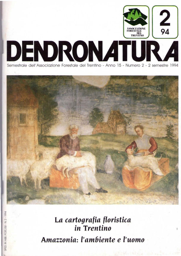 foto di copertina: particolare di un affresco - Villa Margon - Ravina (TN)
