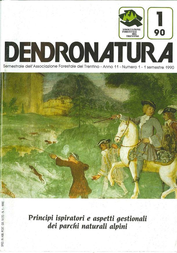 Foto di copertina (C.T.): Allegoria della gioventù - particolare di affresco - Villa Bortolazzi - Vattaro (TN)