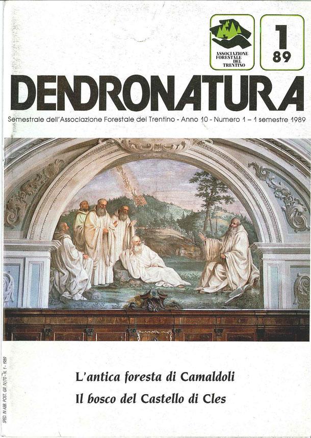 Foto di copertina: S. Romualdo con i primi cinque discepoli - affresco del Pacini nel Coro del Monastero (1775) - Camaldoli (AR)
