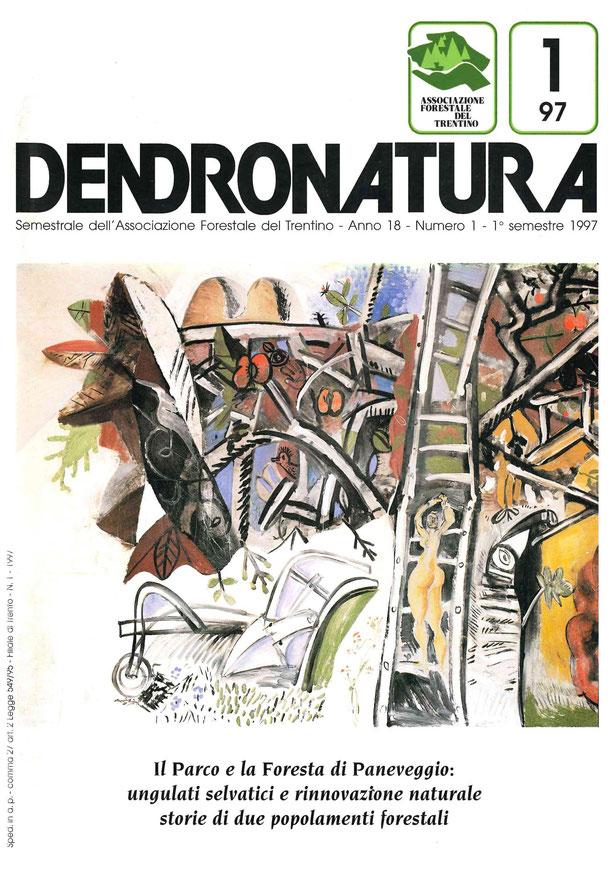 """Foto di copertina:  Particolare dell'affresco """"I sogni della Bancalonga"""" di Riccardo Schweizer, 1992 - Comune di Siror, Val di Primiero (TN)"""