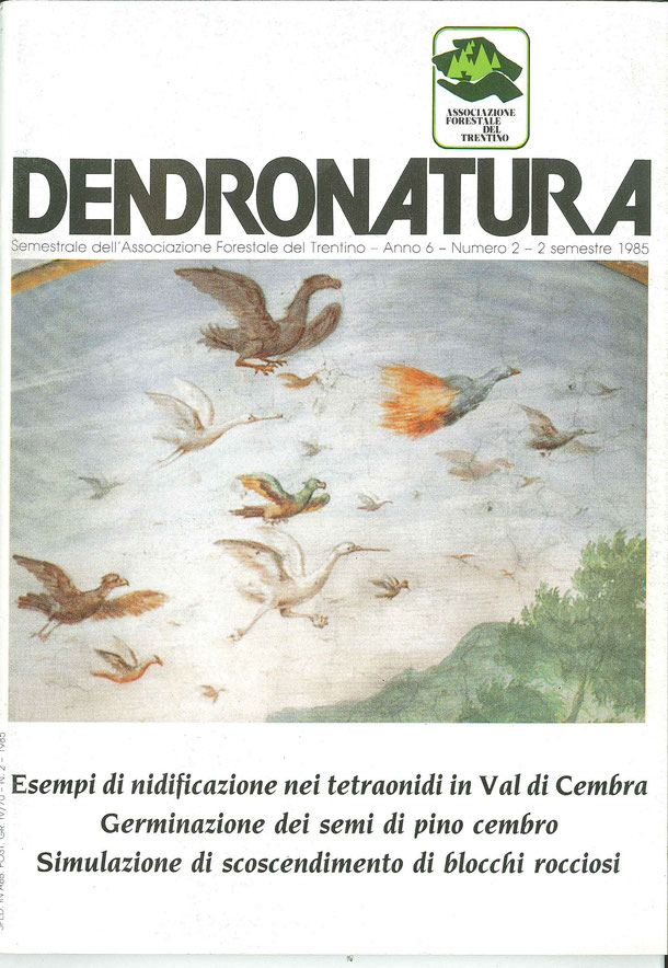 Foto di copertina (C.T.): affresco del 1700 di autore ignoto - Villa Bortolazzi - Vattaro (TN)