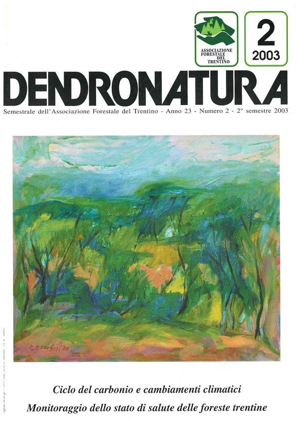"""Foto copertina: dipinto in olio su tela - Renato Pancheri (per gentile concessione de """"Il ritrovo degli Artisti"""" - Trento)"""