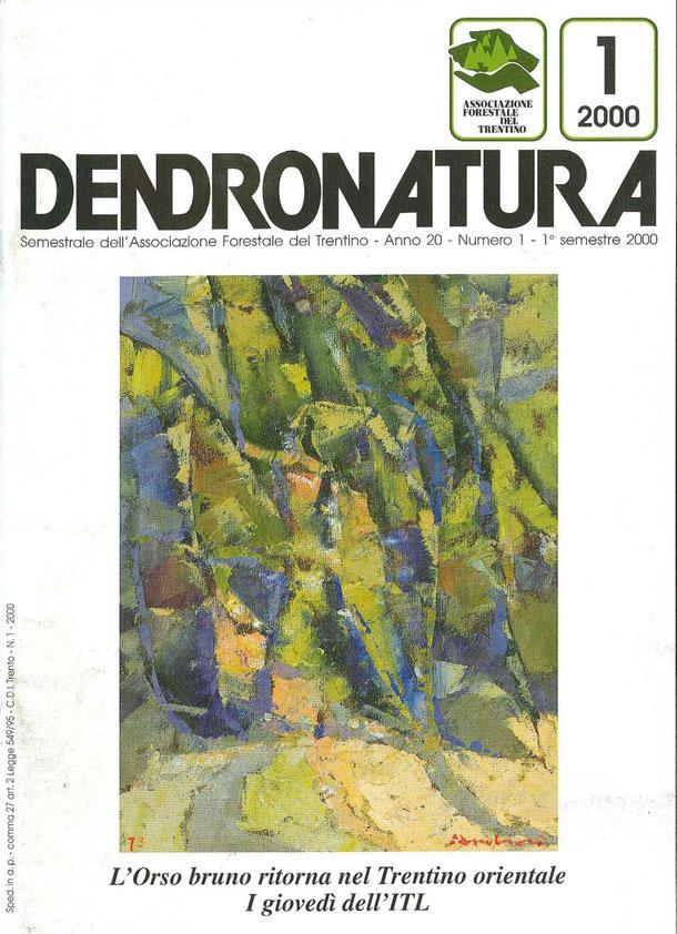 Foto copertina: dipinto in olio su tela - Elmo Ambrosi, 1973 - Galleria d'Arte Fedrizzi - Cles(TN)