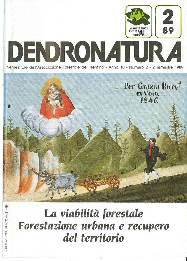 Foto di copertina (F. Faganello): ex-voto del 1846 - di autore ignoto - chiesa di Santa Giuliana - Vigo di Fassa (TN)