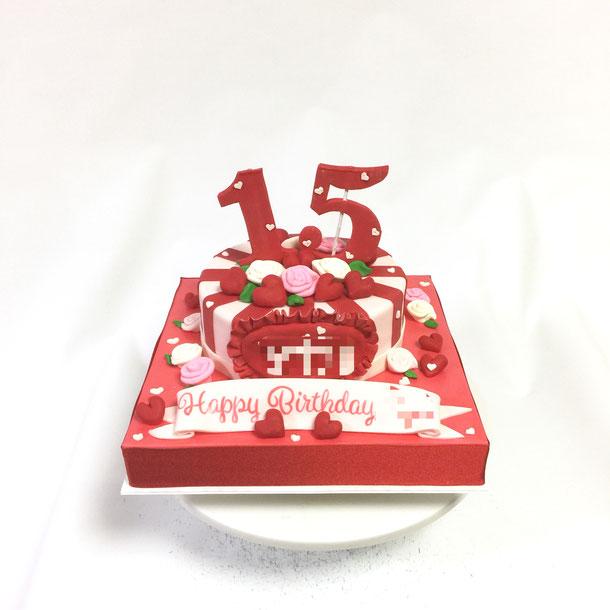 15歳お誕生日ケーキ