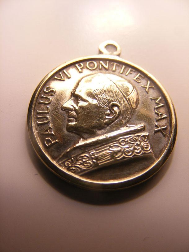 medaille Paul VI coté 1