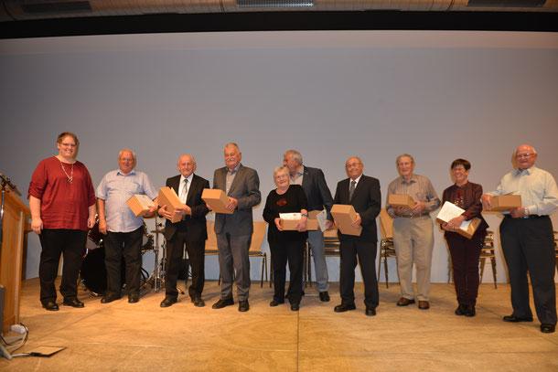 Ehrenmitglied Walter Herrmann Harmonika Club Hildrizhausen