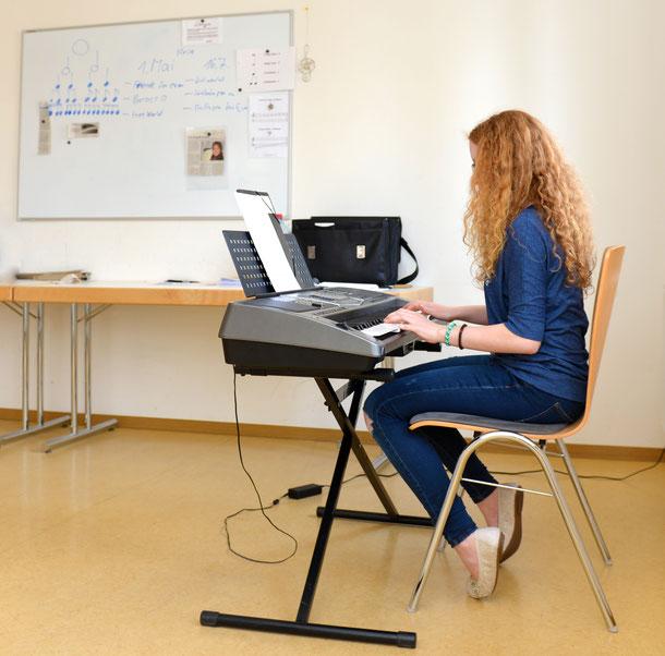 Klavierunterricht Keyboardunterricht Einzelunterricht Hildrizhausen
