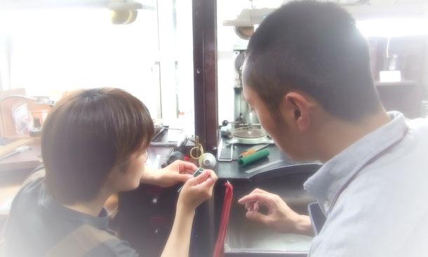 東京で手作りする結婚指輪&婚約指輪