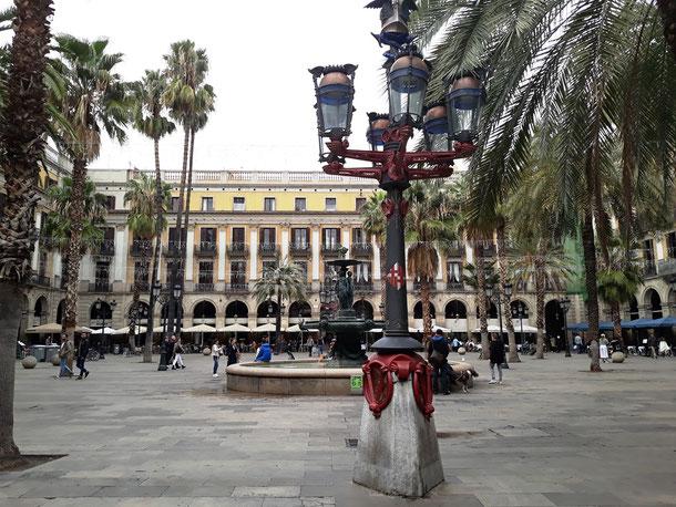 Королевская площадь в Барселоне - лучшие достопримечательности Готического квартала