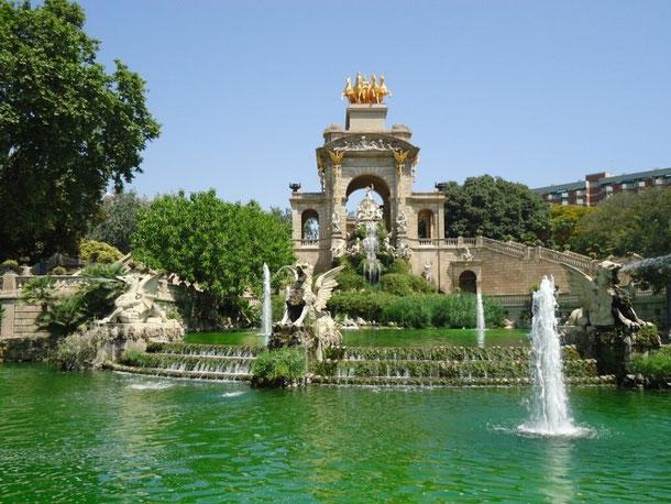 Большой Каскад в Барселоне