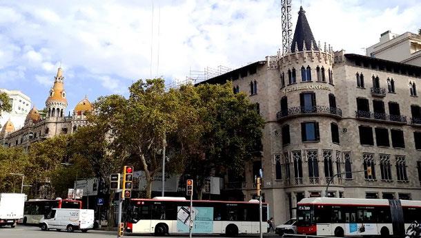 Шедевры архитектурного модерна Барселоны - дома Паскуаль и Понс