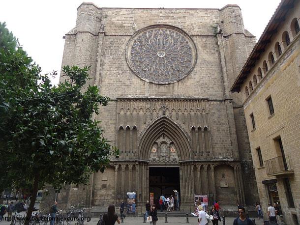 Достопримечтельности Готического квартала Барселоны