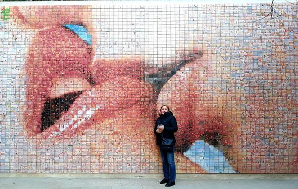 Мир рождается в каждом поцелуе - Барселона