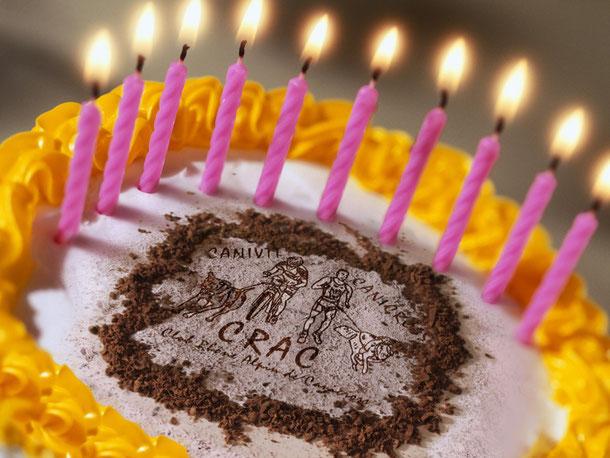 Aujourd'hui, le CRAC a 10 ans! Joyeux anniversaire!