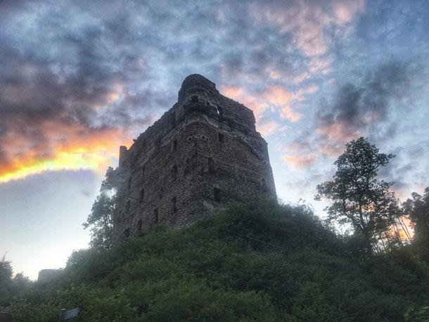 Trailrunning Masdascher Burgherrenweg Traumschleife Burg Balduinseck