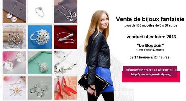 Réunion de vente de bijoux VDI à Angers Bijoux des Lys