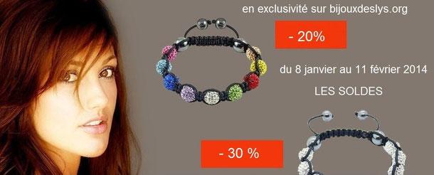 Soldes en exclusivité sur le site de Bijoux des Lys