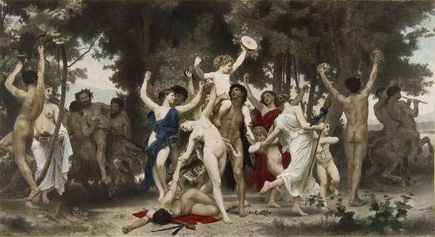 William Bougereau - La jeunesse de Bacchus (1884)