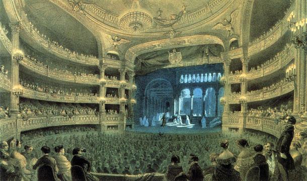 Salle de théâtre Le Peletier