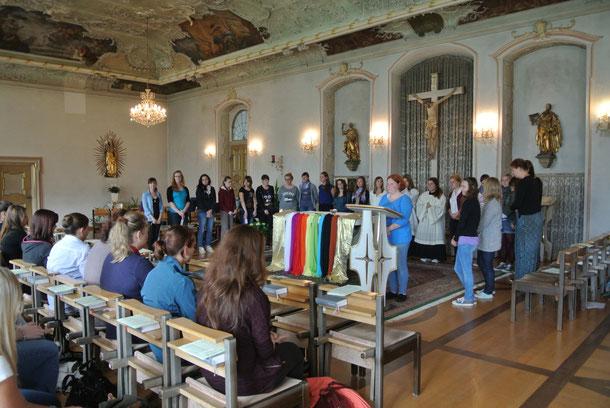 Schuljahresanfangsgottesdienst in der Klosterkapelle