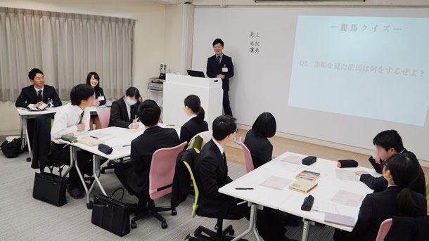 キョウエイ藤原保険事務所の単独会社説明会の様子