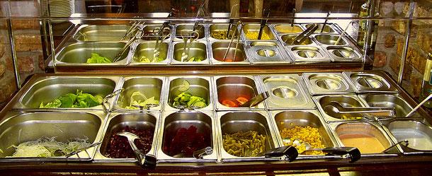 Unsere Frische-Salat-Bar