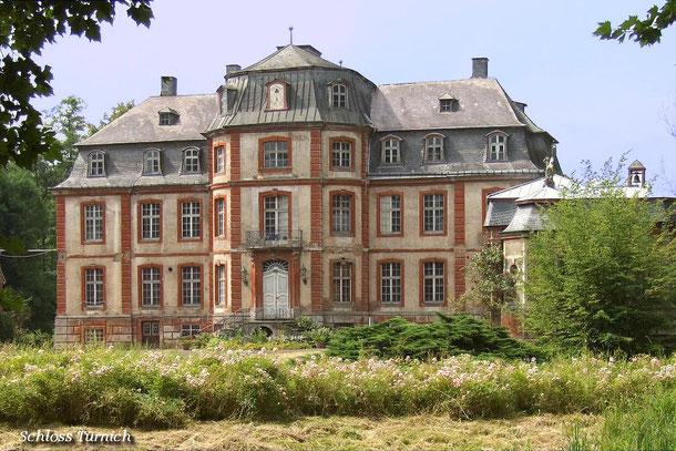 Das Schloss Türnich. Benannt nach dem Stadtteil Türnich in Kerpen/Rhein.