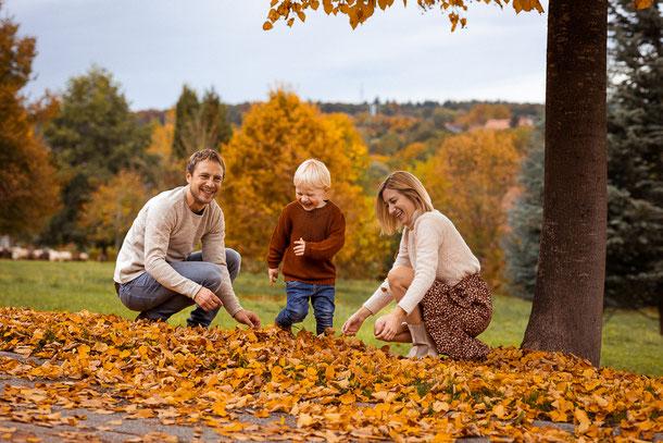 Familienfoto, Familie