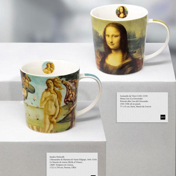 Trend Mug von PPD, große Porzellantasse von PPD, Fine Arts Gallery