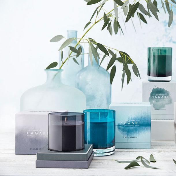 HAGAKI Duftkerzen im Glas von Engels Kerzen