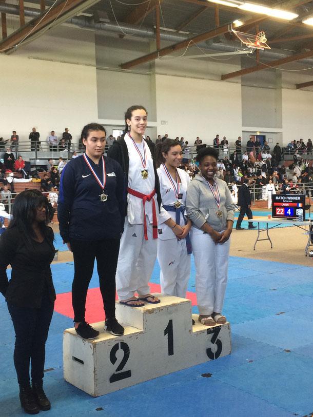 Nelcia, une nouvelle fois championne d'Ile-de-France !