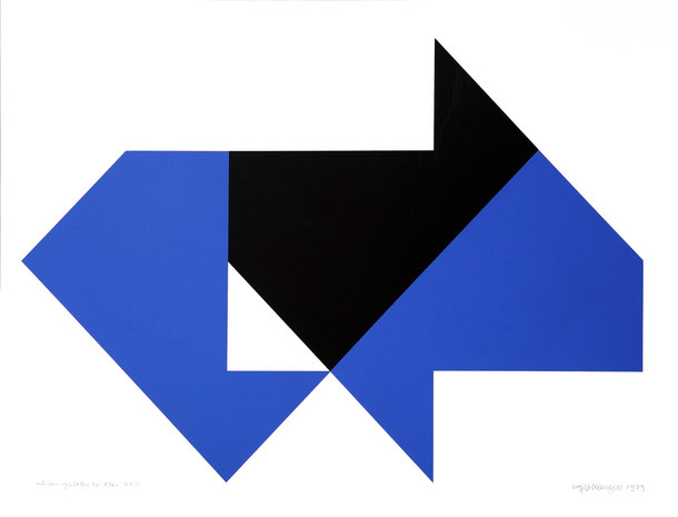 Heijo Hangen, of 70 nr.: XIX-XXV, Serigraphie 1973, 50 x 70 cm