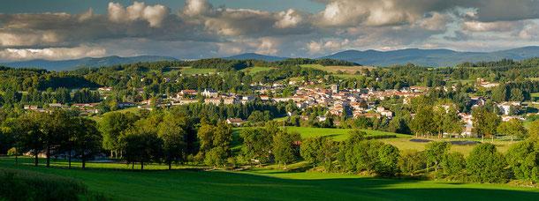 Bourg de Cunlhat. Photo: Arnaud FRICH