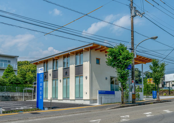 高知市中久万 宮川歯科医院 西側に駐車場有り