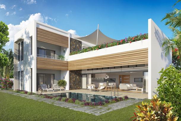 Nouveau programme immobilier de villas AMALA avant première ILE MAURICE