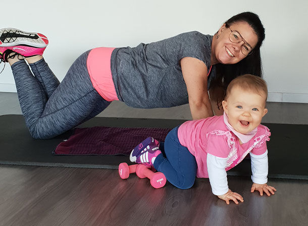 Fitness mit Baby Mainz