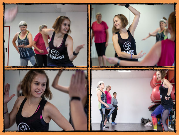 10 Jahre iQvital Frauenfit - Zumba Gold mit Andrea