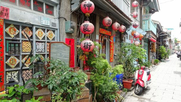 Tainan, Anping, Old Street, alte chinesische Kultur, Tempel, Taiwan, Asien, Südostasien, Sightseeing, Reiseführer, Guide
