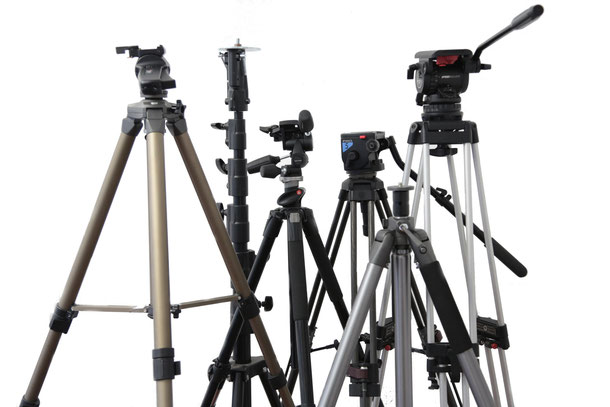 Kameraverleih Videostative Fotostative C-Stands
