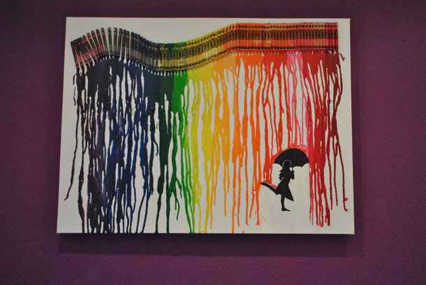 Crayon Art Tutorial Organic Colorful Fun Monsterhosen